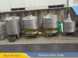 500L química REACTO acero inoxidable Tanque Reactor