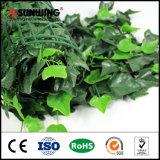 Изгороди уединения ПЛЮЩА Sunwing горячие продавая искусственние для сада