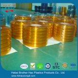 gordijn van de Strook van pvc van de Controle van het Insect van de Breedte van 300mm het Oranje Dubbele Geribbelde