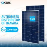 Comitato solare delle Q-Celle di Hanwha poli/sistema energetico del prodotto 320W 325W