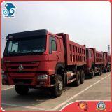 Novo 6X4 Sinotruk HOWO 375 Usado Caminhão Basculante Venda quente boas condições de funcionamento