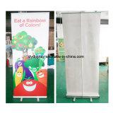Fábrica vendedora caliente de aluminio anodizado rollo de bandera de visualización