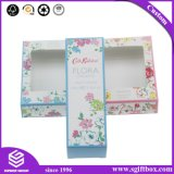 Rectángulo cosmético de empaquetado de papel lindo de lujo del perfume del regalo