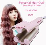 Nuevo estilo de pelo rizador de productos para el cabello pelo de cerámica eléctrico hierro que se encrespa
