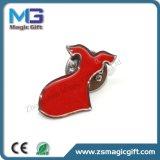 Подгонянный Pin отворотом печатание красного платья твердый с Epoxy куполом