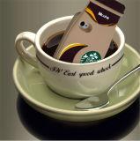 Случаи телефона силикона формы кофейной чашки Starbuck милые