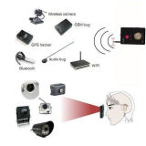 Wireless Cx007 RF señal de teléfono de la cámara GSM GPS WiFi Bug Detector