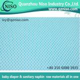 Film perforé de PE respirable de qualité pour feuille de matières premières de serviettes hygiéniques la première