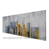 Impresión de la lona del paisaje urbano de Nueva York para la decoración de la sala de estar ningún marco