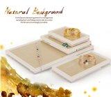 Stand acrylique de mode d'étalage de luxe éventuel de bijou