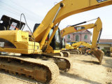 Máquina escavadora usada da esteira rolante da lagarta 320dl (CAT 320)