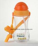 bottiglia di acqua di plastica del capretto 500ml, capretti promozionali di plastica tazza, capretti della bottiglia di acqua