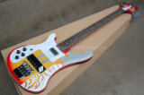 Hanhai Left Handed Ricken Electric Bass with 4 Strings (4003)