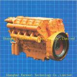 De Dieselmotor van Deutz Bf8l413f met de Vervangstukken van de Motor Deutz