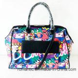 수화물 (NMDK-061008)를 인쇄해 PU 현대 패션 디자이너 숙녀