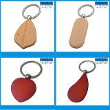 Подгонянное пустое деревянное ключевое кольцо с высоким качеством (Y04302)