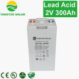 bateria solar 6V 12V 300ah do ciclo profundo da garantia 3years