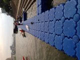 Marina de plástico Pontón muelle flotante para Jet Ski