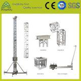 Выставка рекламируя ферменную конструкцию этапа Spigot болта винта оборудования алюминиевую с вспомогательным оборудованием ферменной конструкции