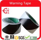 Nastro in bianco e nero della marcatura del PVC del pavimento