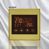Frame plástico do interruptor do toque do termostato do aquecimento Underfloor (SK-HV2300L8-L)