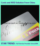 UVbeschichtung-Plastikkarte Belüftung-Karte mit magnetischem Streifen für Bauteil VIP