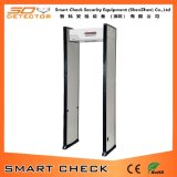 Metal detector portatile di pubblica sicurezza del metal detector di singola zona