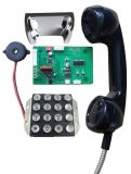 Chrome téléphone, numéro de téléphone de crochet commutateur, socle de téléphone