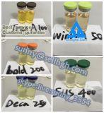 Testosterona líquida inyectable mezclada Sustanon 250 de Sustanon de la testosterona del polvo del esteroide anabólico