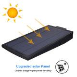 Réverbère solaire extérieur de jardin d'intense luminosité de détecteur de mouvement de radar à micro-ondes d'éclairage de garantie