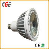 Lampade delle lampade LED dell'indicatore luminoso di lampadina di Downlight PAR30 LED della PANNOCCHIA del chip 12W 15W 18W PAR30 LED della PANNOCCHIA LED