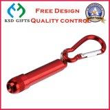 Rote Carabiner Taschenlampe für Förderung (KSD-894)