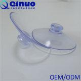 Copo plástico transparente da sução do vácuo da cabeça do cogumelo do vácuo forte do costume 80mm de Qinuo
