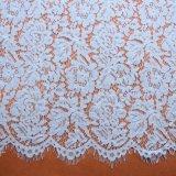 Bordado tela tela del cordón para las mujeres del desgaste