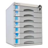 Governo di memoria dell'archivio standard dell'ufficio dei cassetti del metallo 7 con la serratura C9978