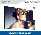 Bisel estrecho 42pulgadas LCD de 55 pulgadas de empalme slim pantalla de pared de vídeo