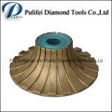 Этап оправы битов маршрутизатора диаманта гранита профиля спеченный абразивным диском