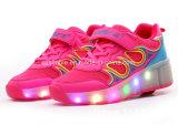 Популярный кек ролика типа СИД обувает ботинки колеса для детей