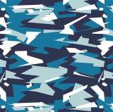 Tela del poliester del camuflaje de la impresión para los zapatos militares de los bolsos de ropa