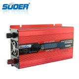 Suoer 2kw 12V 220V intelligentes Solar weg vom Rasterfeld-Energien-Inverter mit LCD-Bildschirmanzeige (SDB-D2000A)