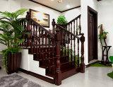 Natürliches Umweltschutz-festes Holz-Treppenhaus hergestellt in China