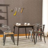 (SP-CT752) Proveedor de China Vintage muebles silla de metal conjunto de venta
