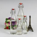 500ml de Fles van de Gisting van de fles van de Verzegelde Fles van het Glas van de Drank van de Fles