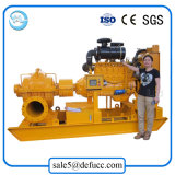 O motor diesel da bomba de água centrífuga de sucção Duplo para Uso de irrigação