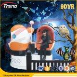 Cinematografo elettrico popolare dell'uovo della Triplice-Sede del simulatore 9d Vr del cinematografo di realtà virtuale 9d