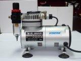 As18k-2 de stille PROCompressor van het Luchtpenseel met de Regelgever van de Lucht & de Tatoegering van de Cake van de Filter van de Val van het Water