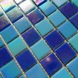 Mosaico de cristal del azul del azulejo de mosaico de Irdium