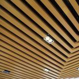 Prix en usine en aluminium en forme de U Baffle plafonnier linéaire pour le design d'intérieur