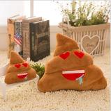 사랑 심혼 디자인 면 견면 벨벳 고물 Emoji 베개