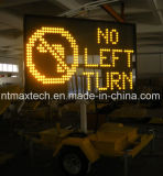 Mensaje Variable de la señal de tráfico remolcables y con energía solar